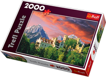 Trefl The Hohenschwangau Castle, Bavaria 2000 Piece Jigsaw Puzzle