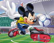 Puzzle - Mickey Mouse & friends - best player - 72 elements - 3D MX29373