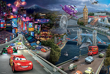 Trefl Puzzle Collage Disney Cars (160 Pieces) PL17737