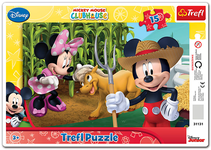 Puzzle - Mickey Mouse Clubhouse - in the countryside - 15 elements