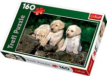 Jigsaw Puzzle - 160 Pieces - Little Labradors