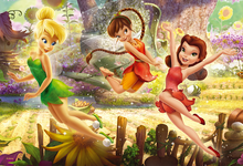 Trefl Puzzle, Fun Disney Fairies, Tinker Bell & Friends (160 Pieces)