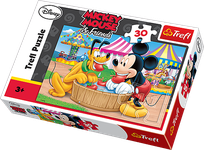 Trefl - 30 Pieces Jigsaw Puzzle - Mickey and his Friends : Funfair ZT40404