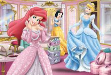Trefl Puzzle Set Up for a Gala Disney Princess (100 Pieces) KD69494