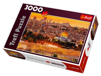 Trefl The Roofs of Jerusalem 3000 Piece Jigsaw Puzzle