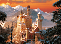 Trefl Winter Neuschwanstein Castle, Germany 3000 Piece Jigsaw Puzzle