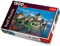 Trefl Oberhofen Castle, Switzerland 1500 Jigsaw Puzzle DM35764