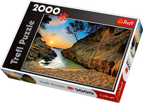 2000 Piece Puzzle Sunrise Costa Brava Spain