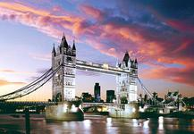 Пазлы Tower Bridge, London, England (Мост Тауер, Лондон) (1000 эл.) KM20913