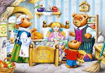 Пазлы Goldilocks and the Three Bears (Три медведя) (260 эл.)