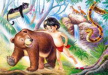 Пазлы Jungle Book (Книга джунглей) (60 эл. MIDI) LZ24798