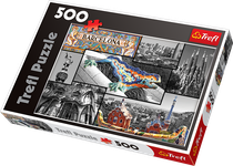 Trefl Barcelona - Collage 500 Piece Jigsaw Puzzle KN37360