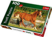 Trefl The Beauty of Gallop 500 Piece Jigsaw Puzzle