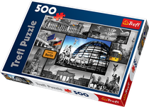 Trefl Berlin - Collage 500 Piece Jigsaw Puzzle