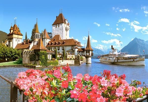 Купить Пазлы Oberhofen, Switzerland (Замок, Швейцария) (500 эл.) CH38035, цена: 0.00 грн.