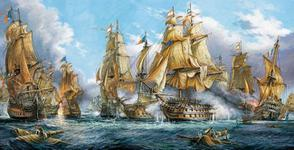 """4000"" - Репродукция картины: Best Battle of Trafalgar Ever (A.A. Orlinski) BB60713"